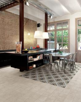 Pavimenti ceramica Fioranese Cementine20 Blend Avorio1 piastrelle