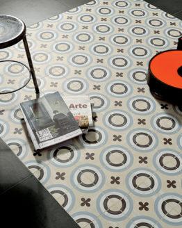 Pavimenti ceramica Fioranese Cementine20 Blend Concrete Gomma1 1 piastrelle