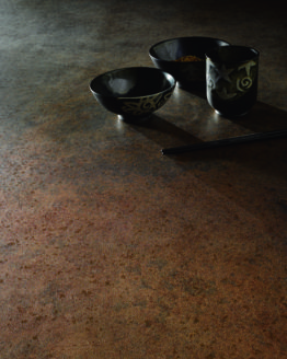 collezione piastrelle Kerlite Metal Cotto Deste